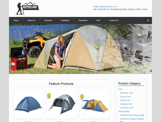 HOSA OUTDOOR Products (Nanjing) Co.,Ltd.