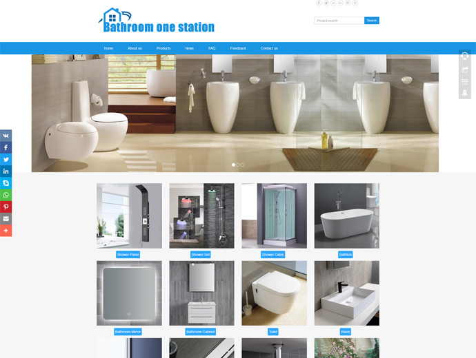 Hangzhou Bathroom One Station Co.,Ltd